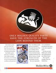 1993 Holden Holdenwise Quality Spare Parts Aussie Original Magazine Advertisement (Darren Marlow) Tags: 1 3 9 19 93 1993 h holden holdenwise g genuine s spare parts p a accessories c car cool collectible collectors classic automobile v vehicles m gm gmh general motors aussie australian australia 90s