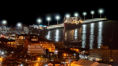 Night View Port of Ushuaia - Argentina - 03070 (Jorge A Miguel) Tags: geotagxgpxfile ushuaia provinciadetierradelfuego argentina