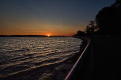 """Sunset Of Your Love"" (SevenOneSeven Studio) Tags: waterfrontsunset brooklyn sunset nighttimephotography silhouettephotography sunsetglow sunsettings sunsethorizon sunsetcolorsync"