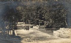 MIlkhouse Ford over Rock Creek (StreetsofWashington) Tags: milkhouseford fords rockcreekpark postcards washington washingtondc