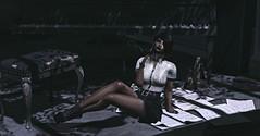 Timely Fashion (♥~ Mahogany ~♥) Tags: blackbirdcageveiledhat blogging cigarette fabulous fashion fierce kunst lic lindyinchains maxigossamer metronome minimal nutmeg organza ricielli secondlife smoke stonesworks thevault veil wasabipills