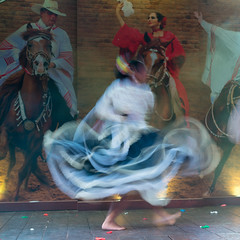 Peruvian Dancer (tourtrophy) Tags: dancer peru lima dancing sonya7rii sony sonnar t sonysonnartfe55mmf18zeiss