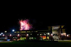 Great Lakes Loons Fireworks Loontacular [Explored] (dangaken) Tags: milb minorleaguebaseball fireworks baseball midland loons midwestleague mwl midlandmi mi gogreatlakesbay nestlevelfun