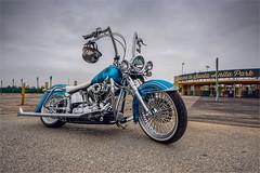 harley davidson (pixel fixel) Tags: airbrush arcadia bombclubcc harleydavidson motorcycle pinstriping santaanitapark turquoise tweakedpixels ©2019kathygonzalez