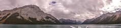Mount Samson and Samson Narrows (www78) Tags: jasper maligne lake national park canada alberta mount samson narrows