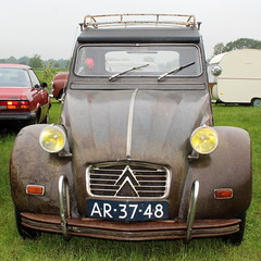 1964 Citroën 2CV (Davydutchy) Tags: hoornsterzwaag fryslân friesland frisia frise nederland netherlands niederlande paysbas holland oldtimer evenement oldtimerdag carshow show meeting treffen classic klassieker klassiker veterán oldie car auto automobiel automobile voiture vehicle pkw avto bil citroën 2cv deuxchevaux eend ente france french may 2019