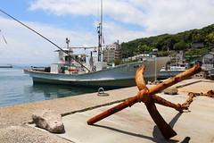 Anchor (Teruhide Tomori) Tags: sea japan japon shimane matsue mihonoseki port harbor anchor boat fishingboat 漁港 美保関 錨 漁船 島根県 海 日本 松江