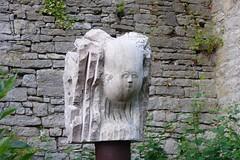 Grosser Kopf Dietrich Heller 2003 (Olga and Peter) Tags: beeld statue grosserkopf dietrichheller 2003 marktbreit duitsland fdscn1101