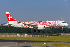 Swiss (ab-planepictures) Tags: swiss airbus a220 cs serie bru ebbr brüssel flugzeug flughafen airport aircraft plane planespotting avaition