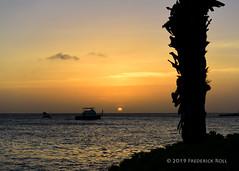 Aruba Sunset (© Freddie) Tags: aruba oranjestad renaissance renaissancearubaresort oceanhotel sunset fjroll ©freddie
