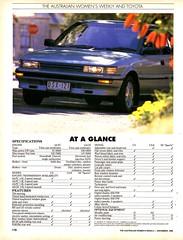 1990 Toyota Corolla Seca Hatchback Page 4 Aussie Original Magazine Article (Darren Marlow) Tags: 1 9 19 90 1990 t toyota c corolla s seca h hatchback car cool collectible collectors classic a automobile v vehicle j jap japan japanese asian asia 90s
