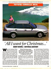 1990 Toyota Corolla Seca Hatchback Page 1 Aussie Original Magazine Article (Darren Marlow) Tags: 1 9 19 90 1990 t toyota c corolla s seca h hatchback car cool collectible collectors classic a automobile v vehicle j jap japan japanese asian asia 90s