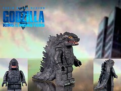 LEGO custom Godzilla from Godzilla: King of the Monsters (Benson_Bone) Tags: lego custom minifigure kaiju godzilla king of the monsters
