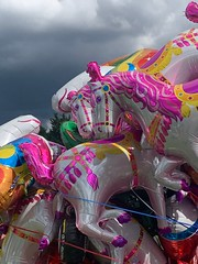 Riders on the Storm (markshephard800) Tags: light horses storm balloons shade contrasts scotland
