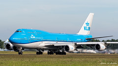KLM B747 (Ramon Kok) Tags: 744 747 747400 747400m 74m ams avgeek avporn aircraft airline airlines airplane airport airways amsterdam amsterdamairportschiphol aviation blue boeing boeing747 boeing747400 boeing747400m eham holland kl klm koninklijkeluchtvaartmaatschappij phbfw royaldutchairlines schiphol schipholairport thenetherlands vijfhuizen noordholland nederland