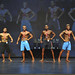Mens Physique Novice 4th Salva 2nd Gabie 1st Hussain 3rd Righi