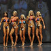 Bikini Grandmasters 4th Bourdon 2nd Archer 1st Bonin 3rd Donohoe 5th Bertone