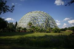 Greenhouse (.julian) Tags: green greenhouse garden clouds dome kuppel university botanic