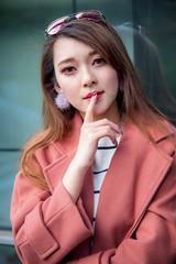 Girl. (Axim2013) Tags: taipei taipeicity taiwan tw nikon 張舒晴 nikond810 day girl red myphotoproject photo raykwa