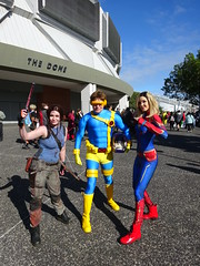 Supanova Sydney 78 (Sconderson Cosplay) Tags: supanova sydney cosplay showground superheroes 2019 marvel comics xmen jean grey cyclops scott summers wolverine logan 90s animated cartoon