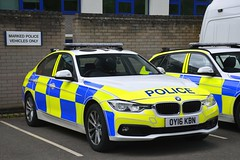 OY16 KBN (S11 AUN) Tags: bedfordshire hertfordshire cambridgeshire police bch cambs constabulary bmw 330d 3series saloon osu operational support unit anpr traffic car rpu roads policing 999 emergency vehicle bchroadspolicing oy16kbn
