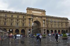 Regenwetter (grasso.gino) Tags: italien italy italia toskana toscana tuscany nikon d7200 florenz firenze regen rain platz square