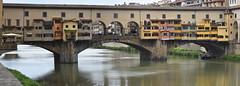 Ponte Vecchio (Panorama) (grasso.gino) Tags: italien italy italia toskana toscana tuscany nikon d7200 florenz firenze pontevecchio panorama brücke bridge fluss river arno
