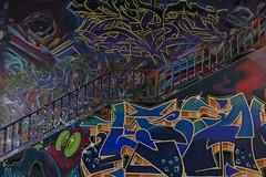 "21. internationales Graffiti-Festival ""Meeting of Styles"" - 21st International Graffiti Festival ""Meeting of Styles"" (heinrich.hehl) Tags: kunst wandmalerei graffiti tunnel treppe farben deutschland hessen mainzkastel festival exposition germany colours stairway wallpainting art"
