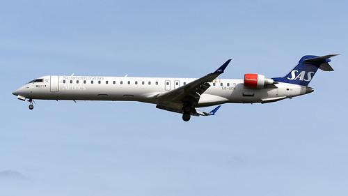 SAS ES-ACM CRJ-900 EGCC 22.06.2019