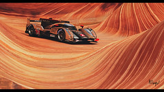 Audi R18 TDI (at1503) Tags: thewave arizona desert rock curve audi r18 audir18 germancar car racingcar usa america orange group1 shapes gtsport granturismo granturismosport motorsport racing game gaming ps4