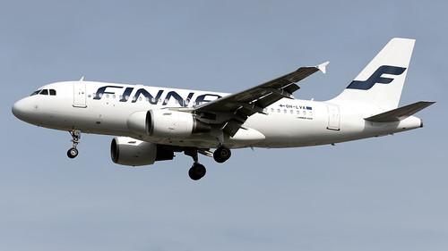 Finnair OH-LVA A319-112 EGCC 22.06.2019