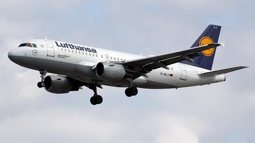 Lufthansa D-AILY A319-114 EGCC 22.06.2019