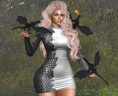 Playing With Dragons (Bryan Trend) Tags: head genus project classic body belleza freya hair runaway riot dress isis maitreya slink hourglass tmp legacy kokoro poses bento female woman blog blogger sl secondlife second life new post