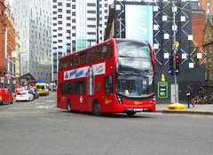 GAL EHV1 - BK15AZR - OLD STREET ROUNDABOUT - THUR 20TH JUNE 2019 (Bexleybus) Tags: old street roundabout underground station adl dennis enviro 400 mmc volvo goahead go ahead london hybrid ehv1 bk15azr tfl route 135
