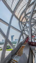 Beijing National Stadium (\Nicolas/) Tags: beijin china stadium bird nest architecture olympic games national stairs 2008