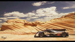 Audi R18 TDI (at1503) Tags: sky clouds blue rock arizona usa america desert audi r18 audir18 germancar racingcar car landscape wheels sun shapes gtsport granturismo granturismosport motorsport racing game gaming ps4