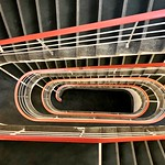 One of many university staircases at the TU Berlin - from above - Part two thumbnail