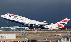 G-BNLN - Boeing 747-436 - LHR (Seán Noel O'Connell) Tags: britishairways ba speedbird gbnln boeing 747436 b747 b744 747 heathrowairport heathrow lhr egll iad kiad ba217 baw7w aviation avgeek aviationphotography planespotting