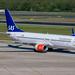 Flughafen Berlin Tegel (TXL): SAS Boeing 737-86N B738 LN-RGB MSN 38034