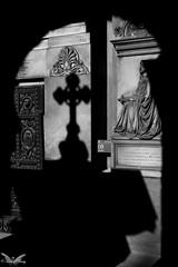 Genova, Cimitero Monumentale di Staglieno (Sven Kapunkt) Tags: friedhof friedhöfe cemetery cemeteries cimetière campo cimitero certosa gräber grab graveyard grabmal gothic grabstätte genova genua italia italy italien ligurien liguria begraafplaats darkness