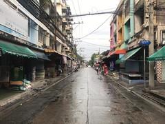 street shot (ChalidaTour) Tags: thailand thai asia asian street streets shot rain raining empty umbrella bangkok