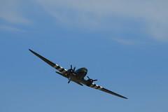 BBMF Dakota (jon lees) Tags: newcastle countydown northernireland display aerobatics plane aircraft
