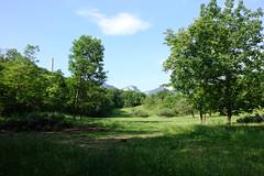Cheminée de la cimenterie Chiron @ Hike to Bec du Corbeau, Mont Joigny & Pointe de la Gorgeat