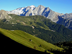 Marmolada and Gran Vernel (Vid Pogacnik) Tags: dolomiti italy mountain landscape italia hiking dolomites marmolada granvernel outdooers