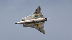 SwAFHF Saab Draken showing off it's awesome design (Nicky Boogaard) Tags: swafhf saabdraken draken saab swedishairforce luchtmachtdagen2019 lmd2019 volkelairbase