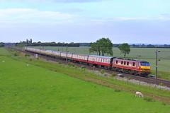 """The Ancient Knigdom"" (mike_j's photos) Tags: colton junction york charter railtour class90 90035 theancientkingdom db ews"