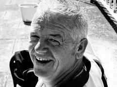 HAPPY MAN IN MONO (Monkiiiey Henry Clark) Tags: