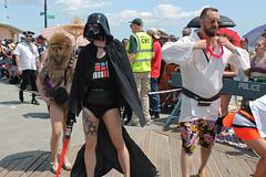 sexy star wars (istolethetv) Tags: 2019 mermaidparade coneyisland brooklyn nyc darthvader chewbacca lukeskywalker sexydarthvader sexychewbacca sexylukeskywalker starwars sexystarwars starfishwars