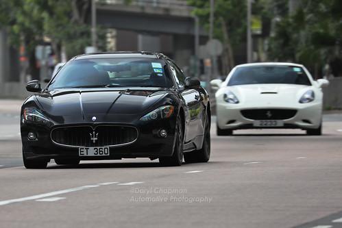 Maserati Granturismo Ferrari California Wan Chai Hong Kong A Photo On Flickriver