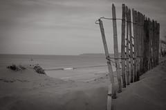 The tide is high (Livesurfcams) Tags: fence devon northamburrowscountrypark ocean atlantic smallwave fuji fujifilm xpro1 35mm f14